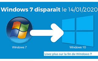 Microsoft ne fournira plus de mise à jour Windows 7