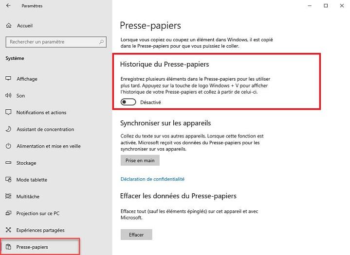 comment-historique-presse-papier-windows-10