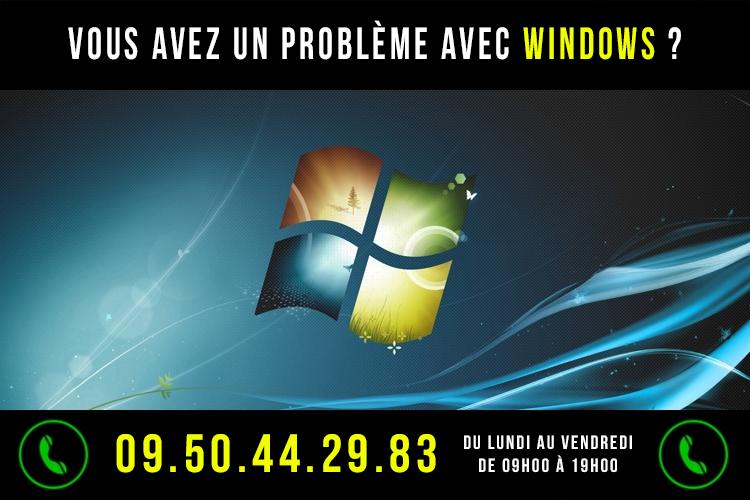 Dépannage Windows & Maintenance Windows Sète, Montpellier, Frontignan, Balaruc, Gigean, Poussan, Hérault